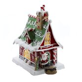 "11"" Christmas Gingerbread Lighted House"