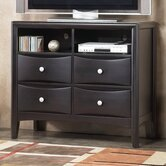 Laguna 4 Drawer Media Chest