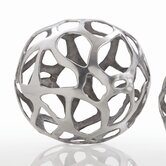 Ennis Web Sphere in Polished Nickel