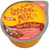 Market Select Real Salmon and Crab Wet Cat Food-24 Pack