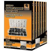 Black Bull 125 Piece Rubber Grommet Assortment Set