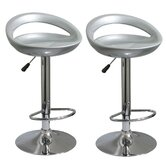 AmeriHome Molded Bar Stool (Set of 2)