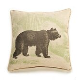 Bear Etching Pillow
