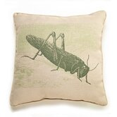 Grasshopper Etching Pillow