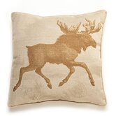 Moose Etching Pillow