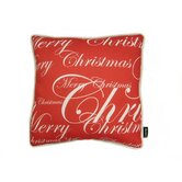 All Over Merry Christmas Pillow