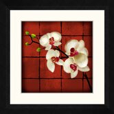 Oriental Floral Framed Wall Art (Set of 2)