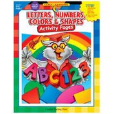 Book Letters Numbers Colors &