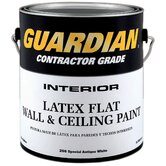 1 Gallon Flat Antique White Contractor Grade Interior Latex Wall &