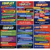Conflict Resolution Posters Pk/6