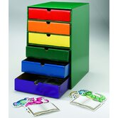 Drawers Assorted Colors Set Of 6