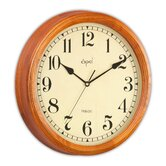 Opal High Quality Round Wooden Clock