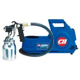 Semi Professional Paint Sprayer - 4 PSI 2 Stage HVLP Finishing System - 54 CFM