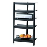 Affiniti 5-Shelf Audio Rack