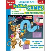 Mix Match Games Language Arts Gr 2