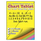 Chart Tablets 24x32 Assorted Blank
