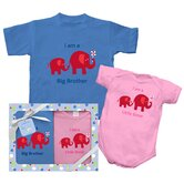 Brother and Sister Elephant Gift Set
