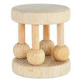 Sprouts Natural Wood Cage Rattle