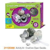 Activity Kit Crack'em Open Geodes