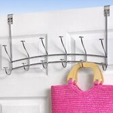 6-Hook Over-The-Door Windsor Rack in Chrome
