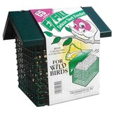 Ez Fill Deluxe Triple Suet Basket in Green