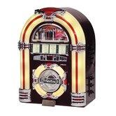 Jukebox CD Player in  Walnut  Finish