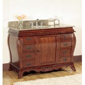 48&quot; Sink Bathroom Vanity in Warm Patina