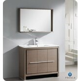 "Allier 40"" Modern Bathroom Vanity with Mirror"
