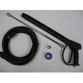 "Vented Pressure Washing Gun Kit with 18"" Zinc-Plated Wand QC"