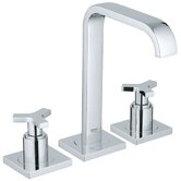 Allure Widespread Bathroom Faucet with Double Cross Handles