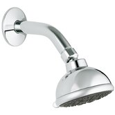 Tempesta Trio Shower Head with Arm and Flange