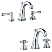 Geneva Double Handle Widespread Faucet