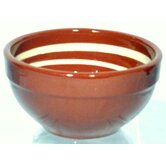 Terracotta Pudding Bowl in Brown / Cream (Set of 2)