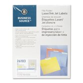 Label, File Folder, Laser/Inkjet, 1500 per Pack, Dark Blue