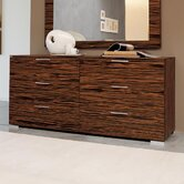 Webb 6 Drawer Double Dresser
