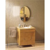 Metro Beveled Mirror Cabinet in Rust Resistant