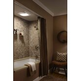 Ultra Silent Bathroom Exhaust Fan with Fluorescent Light - Energy Star