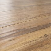 12 mm Handscraped Laminate with Beveled Edge in Distressed Pecan