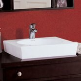 "Classically Redefined 19"" Square Ceramic Vessel Sink"