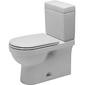 Happy D. Two Piece Toilet in White