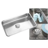 "Gourmet 18.5"" x 30.5"" Perfect Drain E-Dock Sink"
