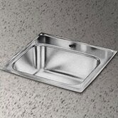 "Pacemaker 15"" x 15"" Self-Rimming Stainless Steel Bar Sink Set"
