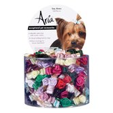 Tiny Dog Bows with Rosettes (100 Pieces)