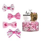 Pretty Dog Bows in Pink (48 Pieces)