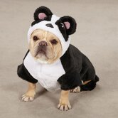 Panda Pup Costume in Black