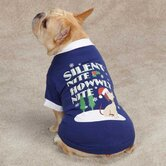 Silent Night Dog Tee