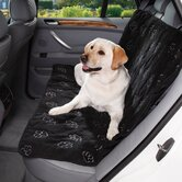Pawprint Dog Car Seat Cover
