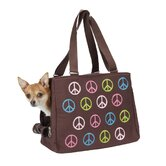 Peace Sign Dog Carrier
