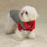 Puppy Love Reversible Dog Vest in Red