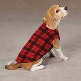 Fashion Fleece Buffalo Plaid Dog Vest